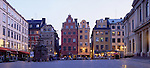 Europe, SWE, Sweden, Stockholm, Old Town, Gamla Stan, Stortorget, Typical sight, Evening
