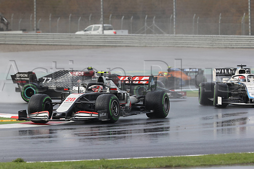 15th November 2020; Istanbul Park, Istanbul, Turkey; FIA Formula One World Championship 2020, Grand Prix of Turkey, Race Day;  20 Kevin Magnussen DEN, Haas F1 Team