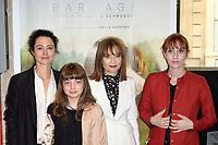 LAURA SCHROEDER, THEMIS PAUWELS, ISABELLE HUPPERT, LOLITA CHAMMAH - Avant premiere du film ' BARRAGE ' - 29 juin 2017 - Paris - France