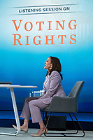 Vice President Harris Attends a Voting Rights Event