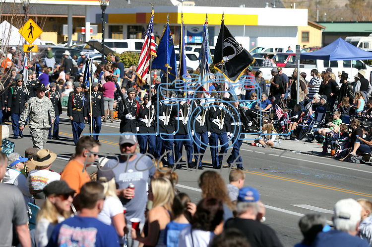 Images from the 79th Nevada Day parade in Carson City, Nev., on Saturday, Oct. 28, 2017. <br /> Photo by Cathleen Allison/Carson City Culture & Tourism Authority