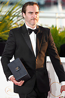 Joaquin Phoenix winner of the award for Best Actor for 'You Were Never Really Here'<br /> Winner's Photocall<br /> Festival de Cannes 2017