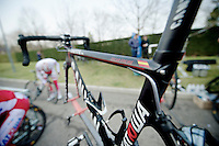 Milan-San Remo preparations..the day before.the Freire bike