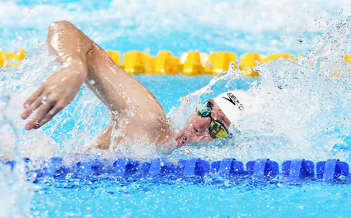 Caleb Arndt, Lima 2019 - Para Swimming // Paranatation.<br /> Caleb Arndt competes in Para Swimming // Caleb Arndt participe en paranatation. 25/08/2019.