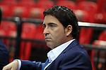 Xavi Pascual. FC Barcelona Regal vs Valencia Basket: 77-63-IX Supercopa ENDESA.