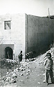 Iraq 1965.The mosque of Barzan after the bombing by the Iraqi army