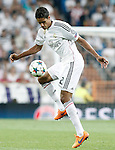 Real Madrid's Raphael Varane during Champions League 2014/2015 Semi-finals 2nd leg match.May 13,2015. (ALTERPHOTOS/Acero)
