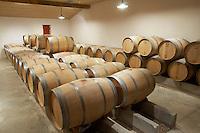 barrel aging cellar ch moulin du cadet saint emilion bordeaux france