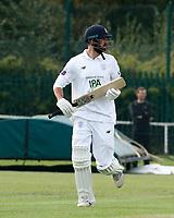 21st September 2021; Aigburth, Merseyside, England; County Championship Cricket, Lancashire versus Hampshire, Day 1; James Vinceof Hampshire runs between wickets