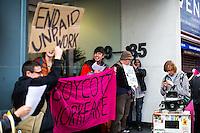 "31.03.2014 - ""YMCA - End Workfare! Stop Sanctions!"" - Boycott Workfare Demo"