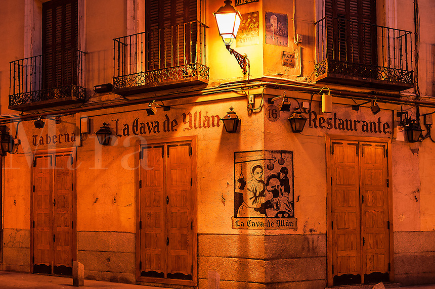 Spanish taberna, Madrid, Spain