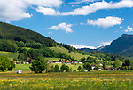 Deutschland, Bayern, Oberbayern, Landkreis Miesbach, Fischbachau: Ortsteil Duernbach im Leitzachtal | Germany, Upper Bavaria, district Miesbach, Fischbachau: urban district Duernbach at Leitzach Valley