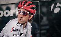 Koen de Kort (NED/Trek-Segafredo) waiting for the course to be opened to the riders for recon<br /> <br /> 104th Tour de France 2017<br /> Stage 1 (ITT) - Düsseldorf › Düsseldorf (14km)