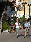 Italien, Suedtirol, Ortsmitte der Marktgemeinde Lana, Weinbauregion im Meraner Becken gelegen zwischen Meran und Bozen | Italy, South Tyrol, Alto Adige, centre of community Lana, wine-growing region between Merano and Bolzano