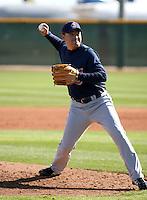 Masu Kobayashi  -  Cleveland Indians - 2009 spring training.Photo by:  Bill Mitchell/Four Seam Images