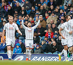 Alex Schalk scores for Ross County and celebrates