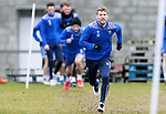 St Johnstone Training....24.02.21<br />David Wotherspoon pictured during training at McDiarmid Park ahead of Sunday's BETFRED Cup Final against Livingston at Hampden Park.<br /><br />Picture by Graeme Hart.<br />Copyright Perthshire Picture Agency<br />Tel: 01738 623350  Mobile: 07990 594431