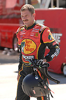 HOMESTEAD MIAMI, FL - OCTOBER 16, 2006: NASCAR Nextel cup drivers have open practice at Homestead Miami Speedway, Homestead Florida<br /> <br /> People;  Kerry Earnhardt