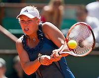 25-05-11, Tennis, France, Paris, Roland Garros, Caroline Wozniacki
