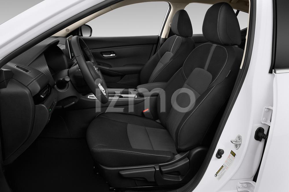 Front seat view of 2020 Nissan Sentra SV 4 Door Sedan Front Seat  car photos