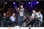 Michael Flatley performs with Martin Hayes and the Tulla Ceili Band at the official opening of the All-Ireland Fleadh 2017 in Ennis. Photograph by John Kelly.