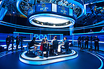 Final Table Players on TV Set