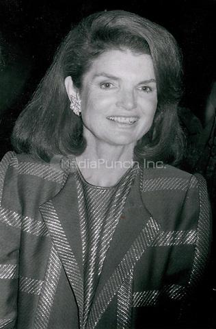 Jackie Onassis 1982<br /> Photo By John Barrett-PHOTOlink.net / MediaPunch