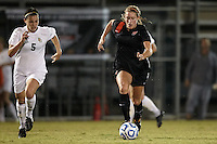 SAN ANTONIO, TX - OCTOBER 31, 2012: The Big 12 Conference Women's Soccer Championship - Game 4 featuring the Baylor University Bears vs. the Oklahoma State University Cowgirls at Blossom Soccer Stadium. (Photo by Jeff Huehn)