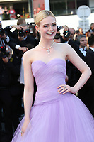 ELLE FANNING<br /> The Beguiled' Red Carpet Arrivals - The 70th Annual Cannes Film Festival<br /> CANNES, FRANCE - MAY 24 attends the 'The Beguiled' screening during the 70th annual Cannes Film Festival at Palais des Festivals on May 24, 2017 i
