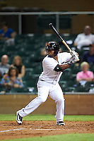Salt River Rafters Christin Stewart (20), of the Detroit Tigers organization, during a game against the Peoria Javelinas on October 11, 2016 at Salt River Fields at Talking Stick in Scottsdale, Arizona.  The game ended in a 7-7 tie after eleven innings.  (Mike Janes/Four Seam Images)