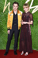 Charlie Heaton and Natalia Dyer<br /> arriving for The Fashion Awards 2017 at the Royal Albert Hall, London<br /> <br /> <br /> ©Ash Knotek  D3356  04/12/2017