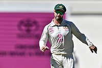 11th January 2021; Sydney Cricket Ground, Sydney, New South Wales, Australia; International Test Cricket, Third Test Day Five, Australia versus India; Matthew Wade of Australia runs after the ball