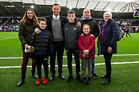 Lee Trundle during the Sky Bet Championship match between Swansea City and Millwall at the Liberty Stadium in Swansea, Wales, UK. Saturday 09 February 2019