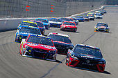 Monster Energy NASCAR Cup Series<br /> AXALTA presents the Pocono 400<br /> Pocono Raceway, Long Pond, PA USA<br /> Sunday 11 June 2017<br /> Erik Jones, Furniture Row Racing, GameStop/Cars 3: Driven to Win Toyota Camry and Michael McDowell, Leavine Family Racing, FDNY Foundation Chevrolet SS<br /> World Copyright: Russell LaBounty<br /> LAT Images<br /> ref: Digital Image 17POC1rl_04595