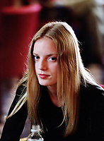 ID :pr_99-09-04-D  7.jpg<br /> D&K :  1999 File Photo of<br /> Canadian actress Sarah Polley who refused to be photographed while waiting to give interviews to Montreal newspapers for the promotion of a movie `` .<br /> Photo by Pierre Roussel, © 1999<br /> This shlightly out of focus photo needs sharpening<br /> ID :pr_99-09-04-D  7.jpg<br /> D&K :  1999 File Photo of<br /> Canadian actress Sarah Polley who refused to be photographed while waiting to give interviews to Montreal newspapers for the promotion of the movie `` Guinevere ``.<br /> Photo by Pierre Roussel, © 1999