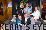 Pictured at the 80th birthday party of Jeremiah Horgan, at the Devon Inn Hotel, Templeglantine on Friday night was front row L-R: Jack, Maureen, Jeremiah and Joshua Horgan, Abbeyfeale. Back row L-R: Breda, Denis and Dineen Horgan, Abbeyfeale.