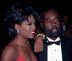 Oprah Winfrey with her dad Vernon Winfrey attend the Academy of Television Arts and Sciences' Hall of Fame at the Walt Disney World on October 1, 1994 in Orlando, Florida.