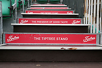 General view of the Tiptree Stand steps during Essex Eagles vs Hampshire, Royal London One-Day Cup Cricket at The Cloudfm County Ground on 28th April 2019