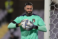 Salvatore Sirigu of Italia <br /> during the friendly football match between Italy and Moldova at Artemio Franchi Stadium in Firenze (Italy), October, 7th 2020. Photo Andrea Staccioli/ Insidefoto