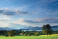 Loch Lomond, Ben Lomond and the Luss Hills, from Gartocharn, Loch Lomond and the Trossachs National Park, Argyll & Bute