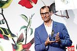 "Roberto Aliaga Sanchez, writer of 'Como arreglar un libro mojado - How to Fix a Wet Book', winner in the Children category of the SM Prizes for Children and Youth Literature ""El Barco de Vapor"" and ""Gran Angular"". April 18, 2017. (ALTERPHOTOS/Acero)"