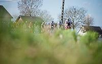 peloton underway<br /> <br /> 100th Ronde van Vlaanderen 2016