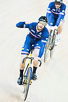 Benjamin Edelin of the team of France competes in Men's Team Sprint Finals match as part of the 2017 UCI Track Cycling World Championships on 12 April 2017, in Hong Kong Velodrome, Hong Kong, China. Photo by Victor Fraile / Power Sport Images