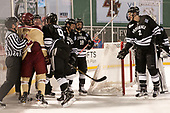 Tommy George, Mike Booth (BC - 12), Joe Ross, Brandon Duhaime (PC - 9), Ryan Tait (PC - 8), Jacob Bryson (PC - 18), Vincent Desharnais (PC - 2) - The Boston College Eagles defeated the Providence College Friars 3-1 (EN) on Sunday, January 8, 2017, at Fenway Park in Boston, Massachusetts.