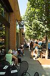 Northwest 23rd Street Scene in Portland, Oregon