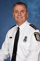 Sylvain Caron ,le 40e directeur du Service de police de la Ville de Montreal (SPVM) depuis dec 2018<br /> <br /> Photo fournie par le SPVM