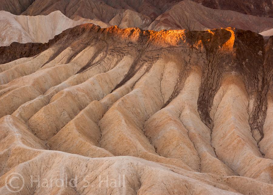 Zabrisky Point in Death Valley California
