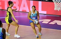 Elizapeta Toeava in action during the ANZ Championship netball match between Northern Mystics and Central Pulse at the Auckland Netball Centre in Auckland, New Zealand on Saturday 18 July 2020. Photo: Simon Watts / bwmedia.co.nz