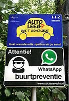 Nederland Oud-Zuilen - 2020.  Buurtpreventie.  Foto Berlinda van Dam / ANP / Hollandse Hoogte