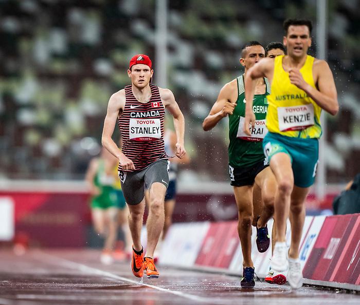 Liam Stanley, Tokyo 2020  -  <br /> Para Athletics // Para-athlétisme.<br /> Liam Stanley competes in the men's 1500m T38 final // Liam Stanley participe à la finale masculine du 1500 m T38. 04/09/2021.